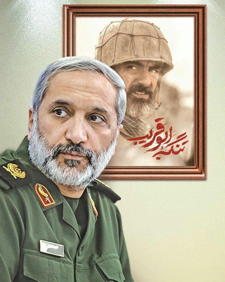 """مهدی پاکدل در نقش سردار یزدی در """"تنگه ابوقریب"""""""