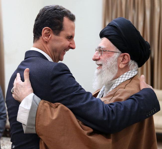 رهبری و بشار اسد