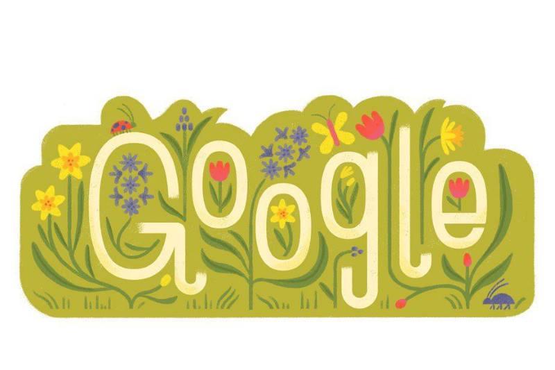 لوگوی گوگل به مناسبت نوروز ۹۸ تغییر کرد