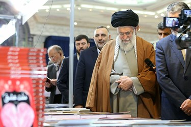 حضور رهبری در نمایشگاه کتاب
