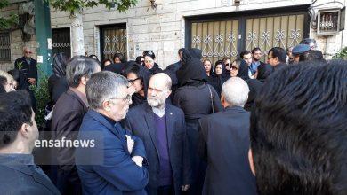 گزارش تصویری تشییع جنازه بهمن کشاورز