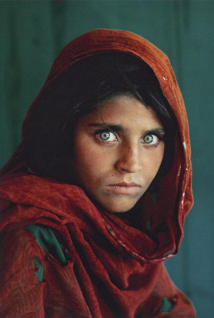 دختر افغان / عکاس استیو مککری
