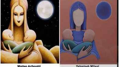 نقاشی تهمینه میلانی