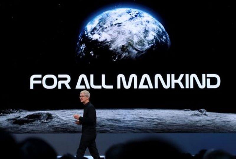 تیزر برنامهی تلویزیونی اپل: برای همهی انسانها