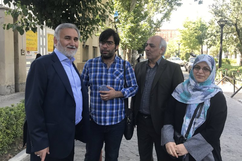 ممانعت از حضور شکوری راد در دادگاه رضا خاتمی