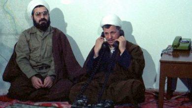 هاشمی رفسنجانی و حسن روحانی در زمان جنگ