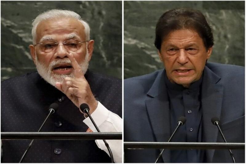 جدال رهبران پاکستان و هند در سازمان ملل