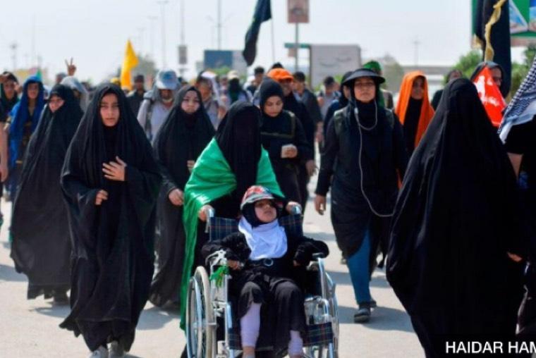گزارش و تصاویر بی بی سی از اربعین