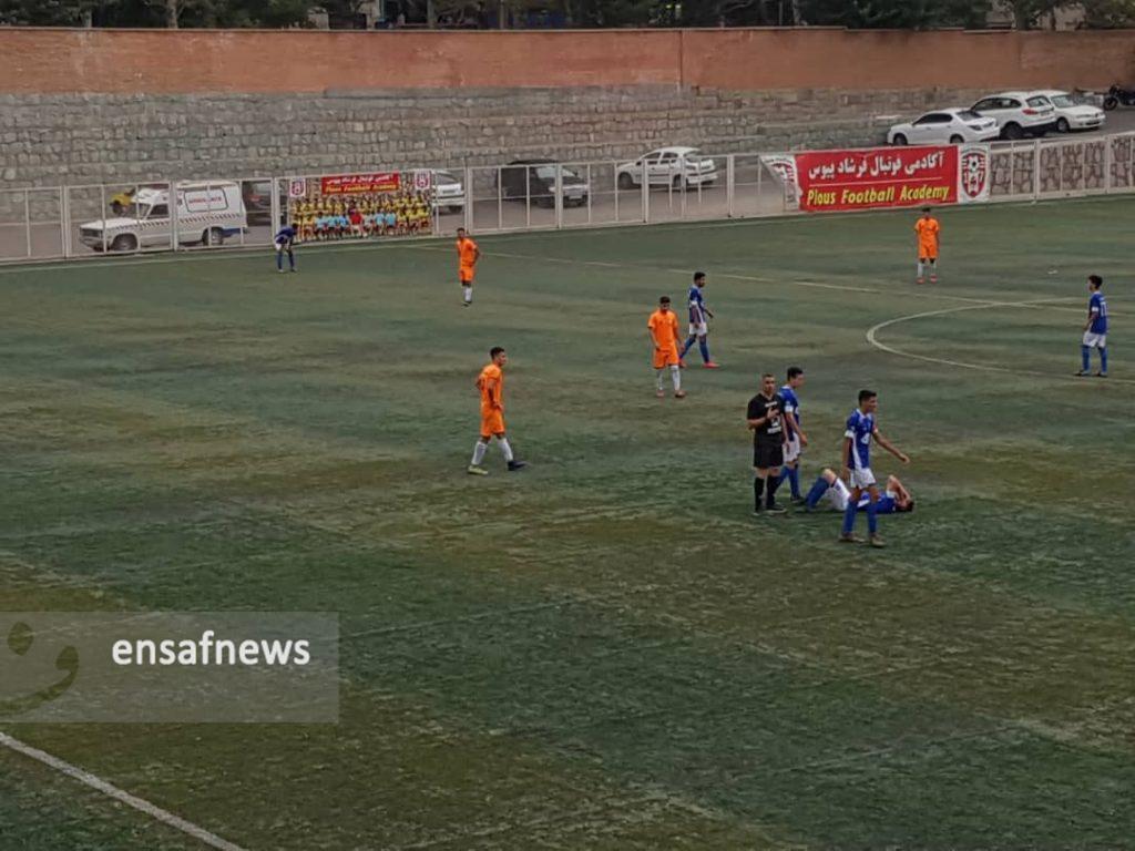 شکست تیم فوتبال امید بادران در آخرین بازی نیم فصل