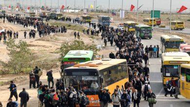 آخرین وضعیت ترافیکی استانهای مسیر اربعین