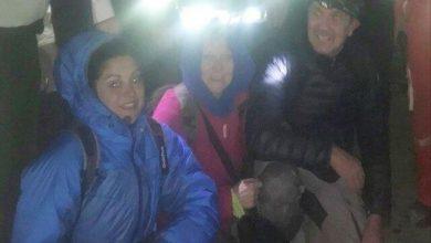 نجات سه گردشگر فرانسوی گرفتار در باتلاق بندر رحمانلو