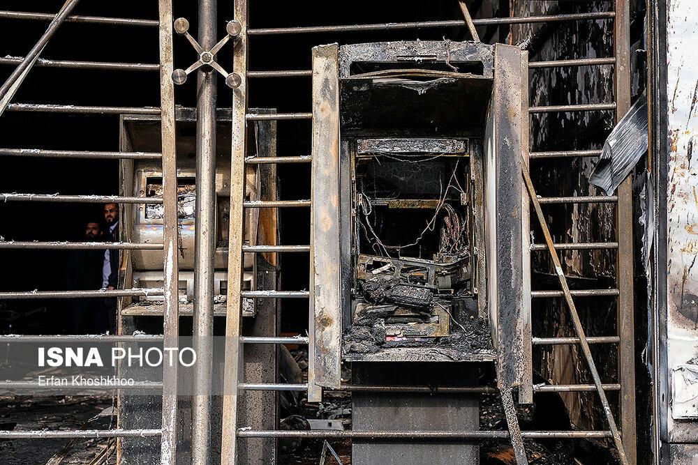 عکس | خسارات حوادث دو روز اخیر