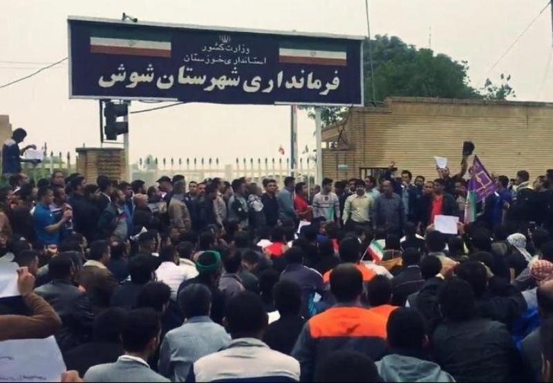 جزئیات مطالبات کارگران هفتتپه در نهمین روز از اعتصاب مقابل فرمانداری شوش