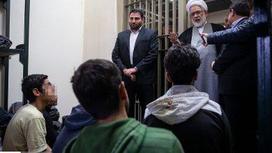 بازدید دادستان کل کشور از زندان فشافویه