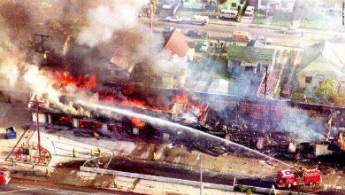 شعام، شاک و تجربهی شورشهای ۱۹۹۲ لسآنجلس