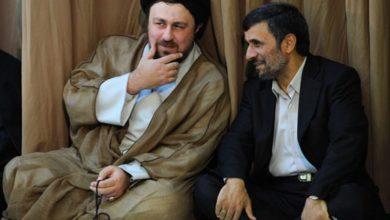 احمدی نژاد و حسن خمینی دیدار کردند