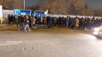 گزارشی از خیابانهای مرکزی تهران در غروب یکشنبه