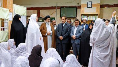 بازدید رئیسی از زندان زنان شهرری
