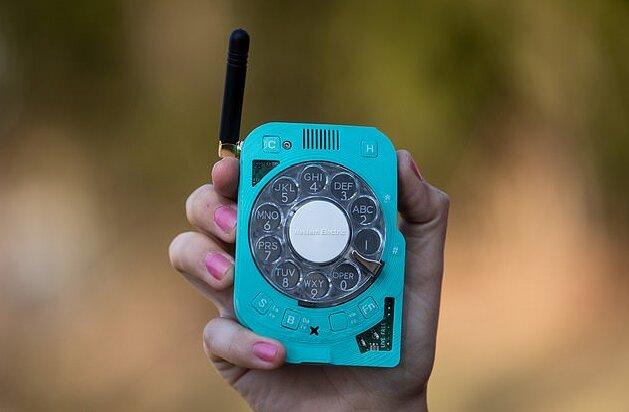 موبایل با شمارهگیر چرخشی! [+عکس]