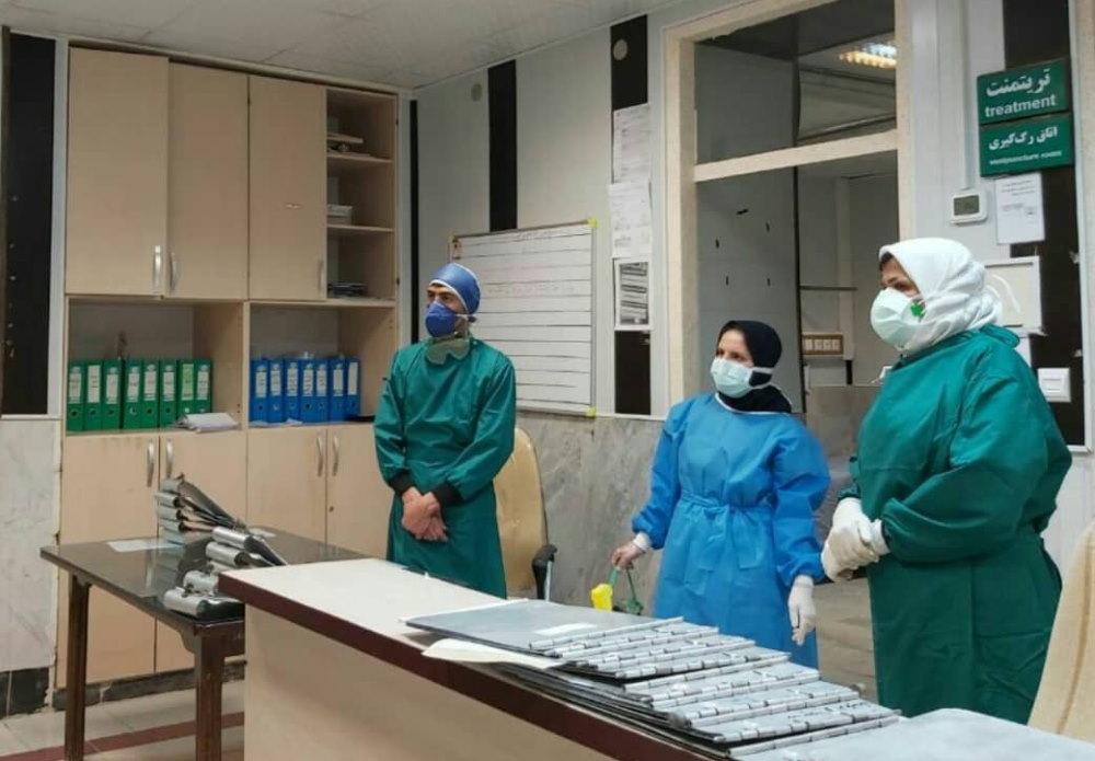 ابتلای دو پرستار و یک پزشک آشتیانی به کرونا