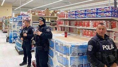 آیا عکس روحانی از توزیع دستمال کاغذی با پلیس آمریکا فتوشاپ بود؟