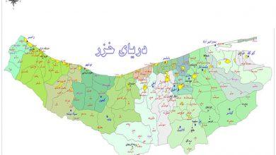 مسیرهای ورودی به استان مازندران مسدود شد