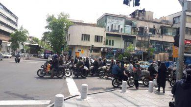 گزارش تصویری: تهران بعدازظهر شنبه ۳۰ فروردین