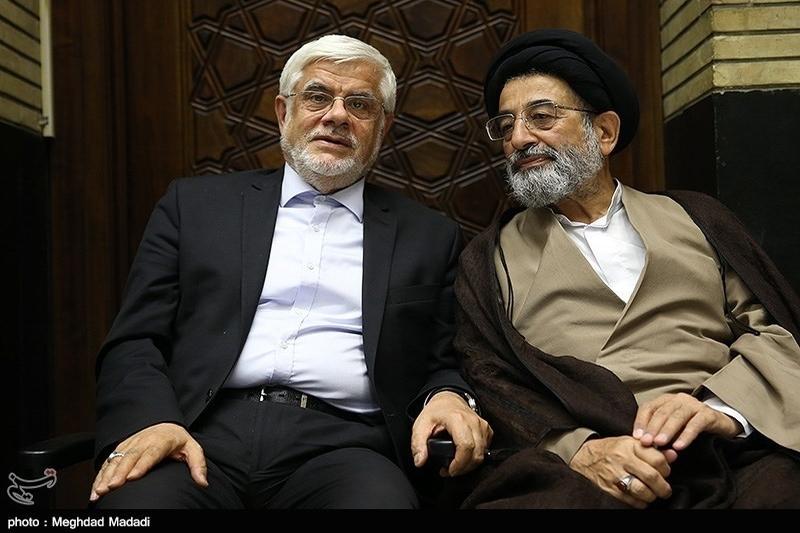 نامهی استعفای موسوی لاری خطاب به عارف
