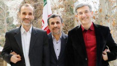 اسفندیار رحیم مشایی - محمود احمدی نژاد - حمید بقایی