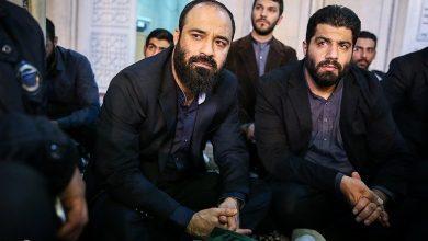 هلالی و بهمنی در حسینیه کربلا