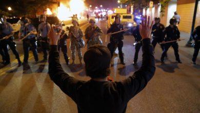 دوتحلیل از نحوهی برخورد با اعتراضات در ایران و آمریکا