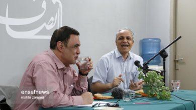 گزارش تصویری | مناظره زیدآبادی و ناصر ایمانی