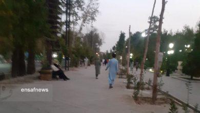 گزارش میدانی از ماجرای تجمع «حامیان طالبان» در پارک ملت