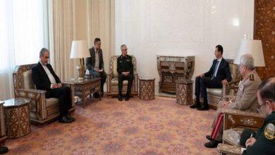 دیدار سرلشکر باقری با بشار اسد