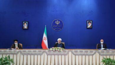 حسن روحانی - سیدابراهیم رئیسی - محمدباقر قالیباف