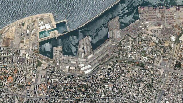 تصاویر بیروت قبل و بعد از انفجار
