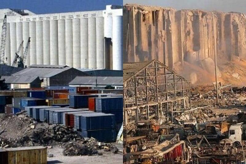 انفجار لبنان - انفجار بیروت