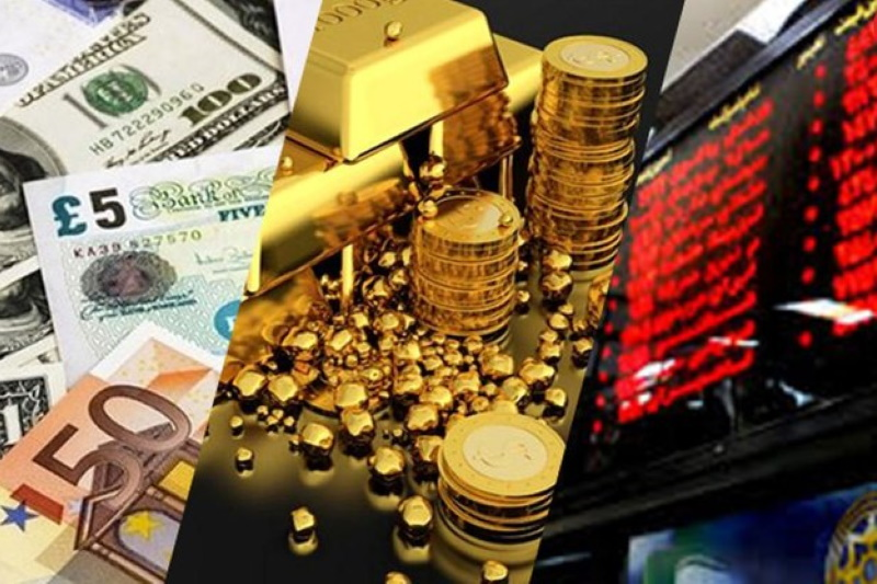 در بورس سرمایهگذاری کنیم یا طلا؟
