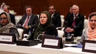 رویارویی مذاکرهکنندگان زن با طالبان