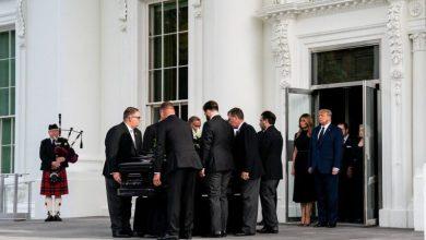 حاشیههای یک تشییع جنازه در کاخ سفید