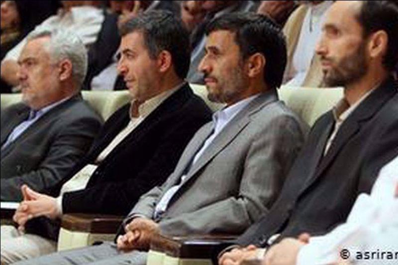 محمود احمدی نژاد و حمید بقایی و محمدرضا رحیمی و اسفندیار رحیم مشایی
