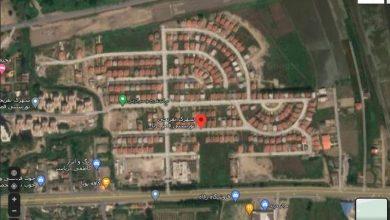 نقشه هوایی فاز دو مجتمع قصر دریا
