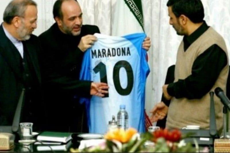ُسرنوشت پیراهن اهدایی مارادونا به احمدینژاد