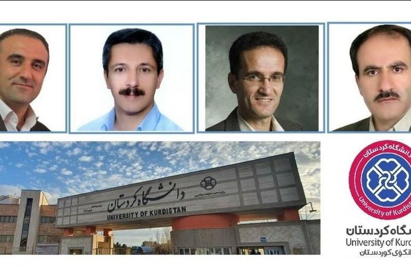 حضور چهار عضو هیات علمی دانشگاه کردستان در بین دانشمندان برتر دنیا