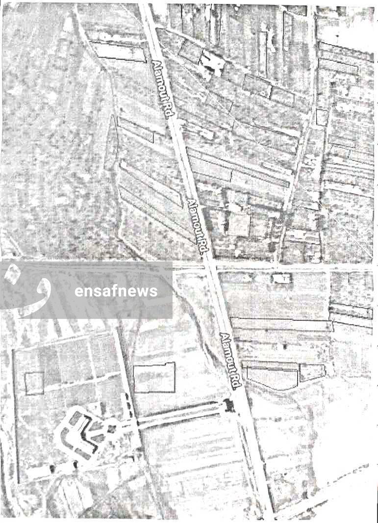 نقشهی پیوست به نامهی شهرداری