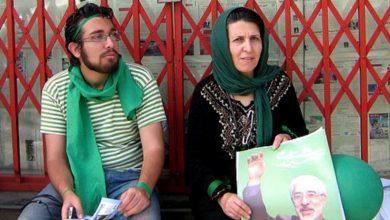 تماس تلفنی میرحسین با مادر سهراب اعرابی