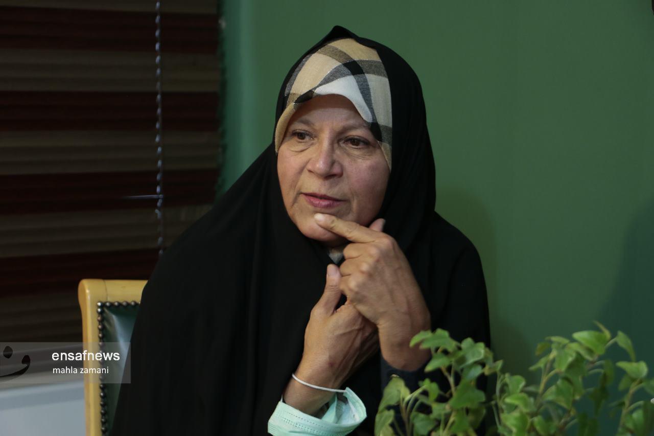 مصاحبه با فائزه هاشمی در سالگرد آیت الله