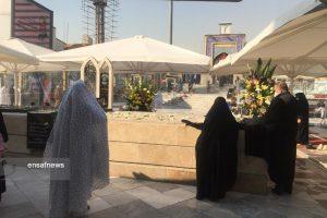 قبر بیسنگ کشته شدگان هواپیمای اوکراینی در امامزاده صالح