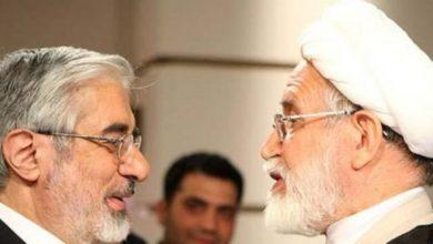 گزارش تماس میرحسین و کروبی با سیدضیا مرتضوی