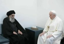 دیدار پاپ فرانسیس و پاپ فرانسیس در عراق